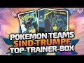 Top-Trainer Box: Teams sind Trumpf - Pokemon Trading Card Game