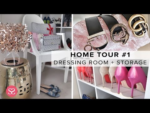 MY DRESSING ROOM TOUR + HOW I STORE LUXURY! | Sophie Shohet Home Tour #1