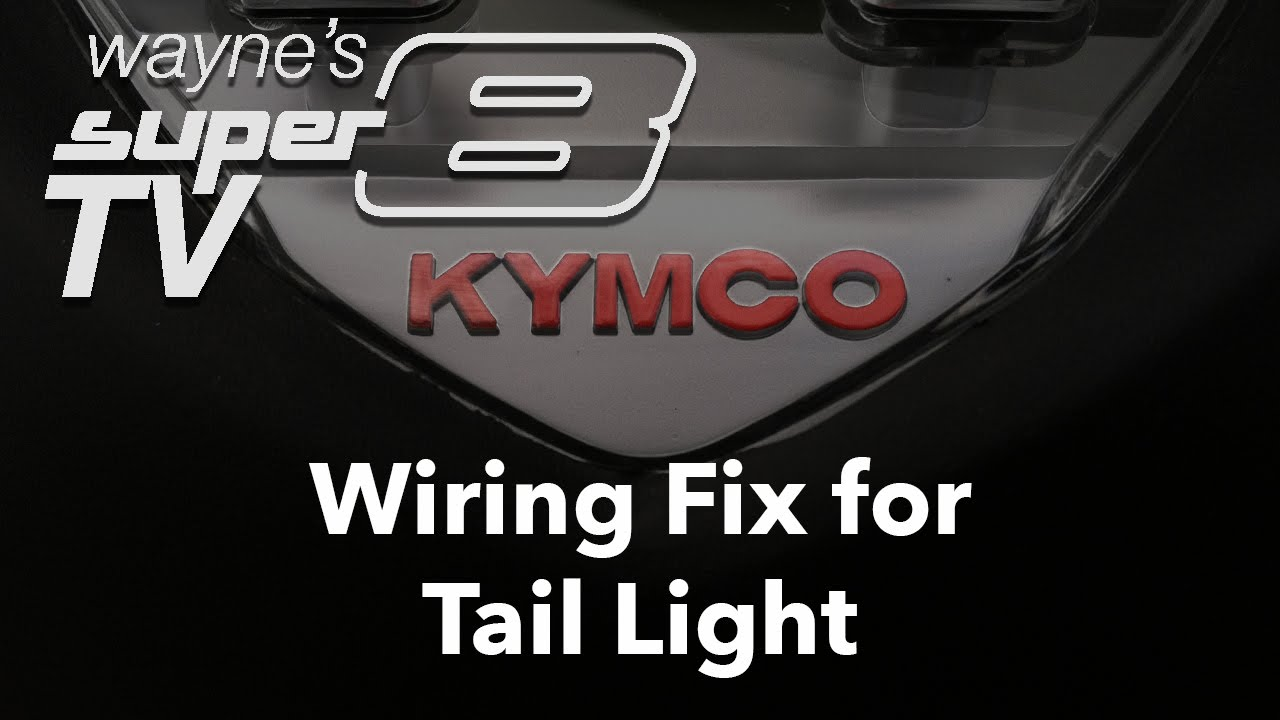 maxresdefault wiring fix for tail light on 2013 kymco super8 150 youtube Kymco Super 8 150 Review at n-0.co