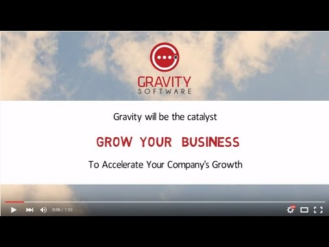 Gravity Software For Growing Businesses