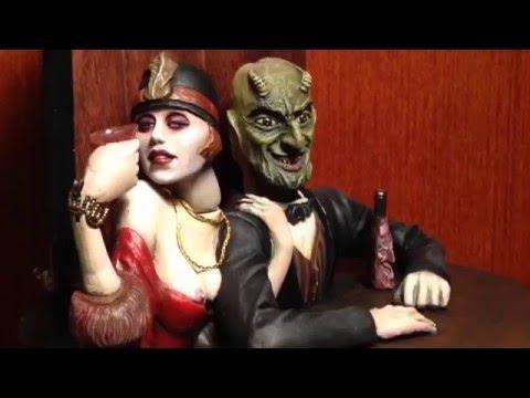 "Weimar 1920's "" Berlin Couple"" automaton by Thomas Kuntz"