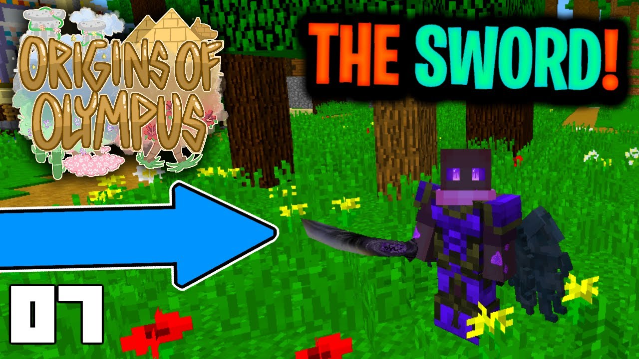 I FOUND THE SWORD (Minecraft Origins of Olympus Season 2 Roleplay)