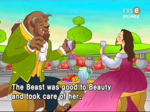 Мультфильм красавица и чудовище смотреть онлайн на английском с субтитрами