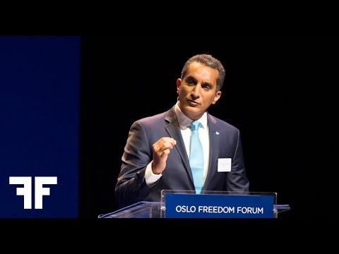 Bassem Youssef -  باسم يوسف - Keynote 2014 Address