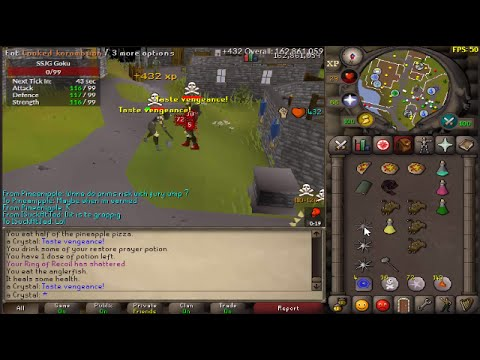 Oldschool Runescape Pk Video 1 | High Risk 100m+| DH | Brid by Aloe