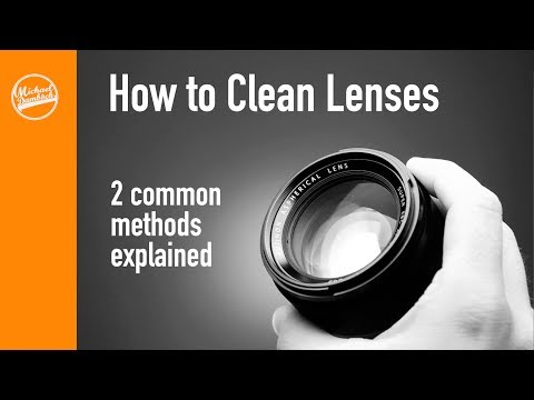 Photography Tips: How to Clean DSLR Lenses and Mirrorless Lenses: 2 Common Methods Explained
