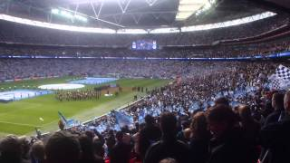 11/05/13 - The 2013 FA Cup Final - The National Anthem (1080p HD)