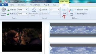 How to Delete Unwanted Parts in Your Video Windows Live Movie maker