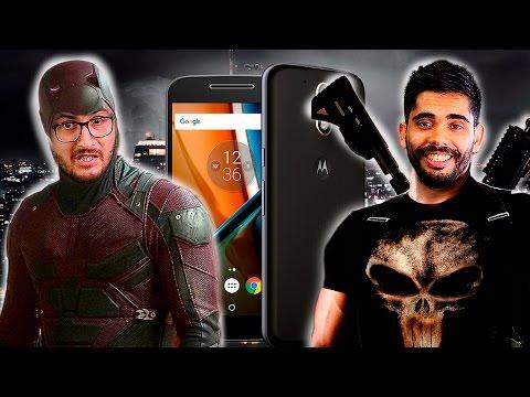 Enfrentados por el Motorola Moto G4
