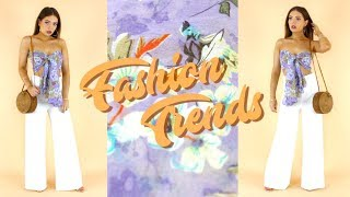 2018 Fashion Trends | How to Style Runway Trends