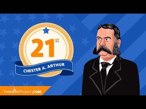 Chester Arthur | Presidential Minute