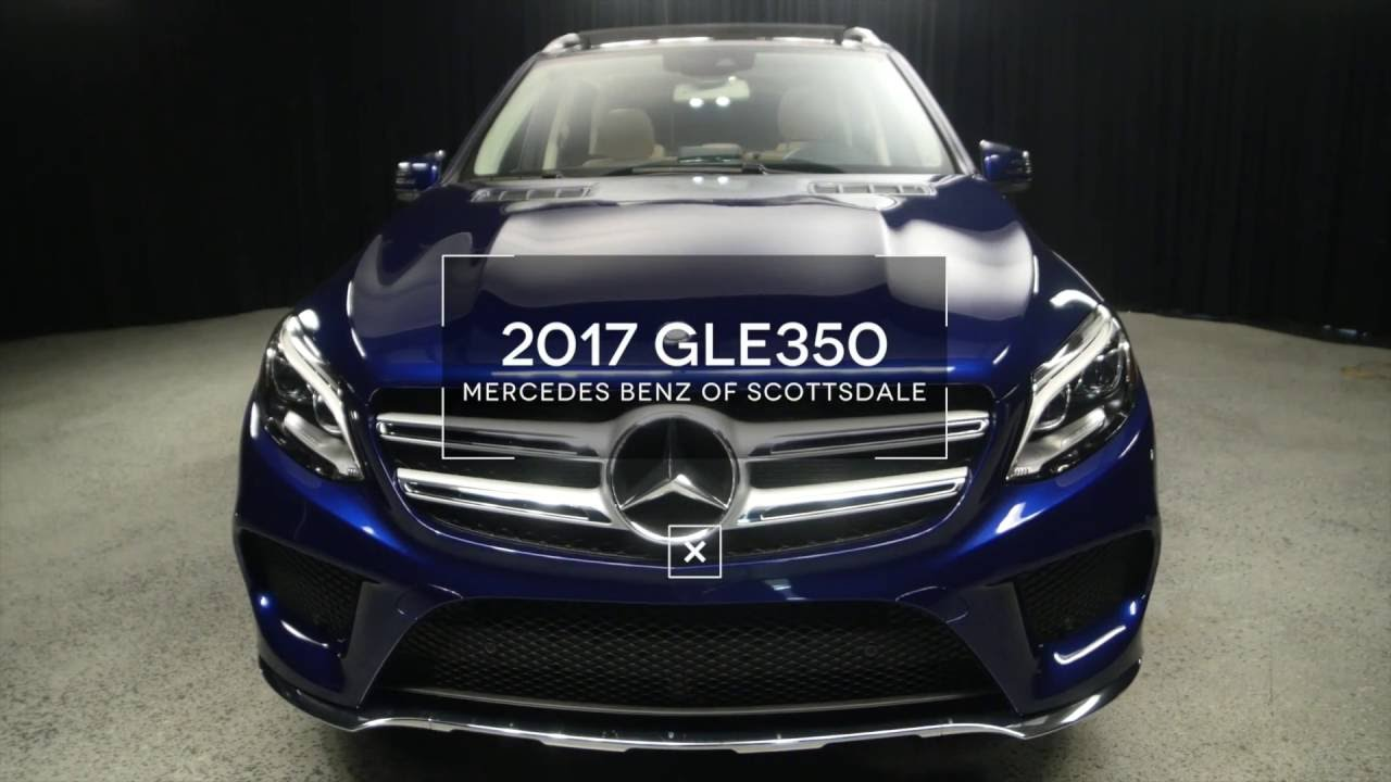Mercedes Benz Of Scottsdale >> Our Brilliant Blue 2017 Mercedes-Benz GLE GLE350 from ...