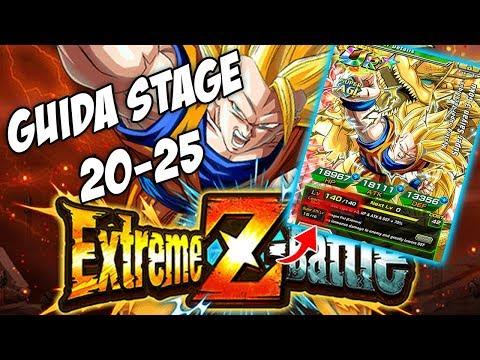 GUIDA GOKU SSJ3 AGL EZA STAGE 20-25! Dragon Ball Z Dokkan Battle ITA