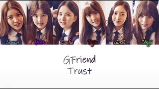 GFRIEND (여자친구) – TRUST Han/Rom/Eng Color Coded Lyrics