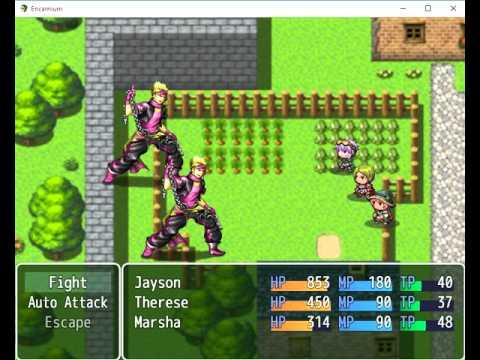 RPG Maker MV Plugin: AutoBattlePlugin