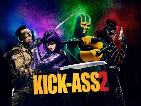 #Kick-Ass2 Полный пипец вакханалия и наведем порядок в городе