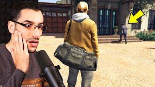 براد يزور مايكل بعد عودته للحياة (شيء لا يصدق حدث) في جي تي أي 5   GTA V RESPAWN Brad