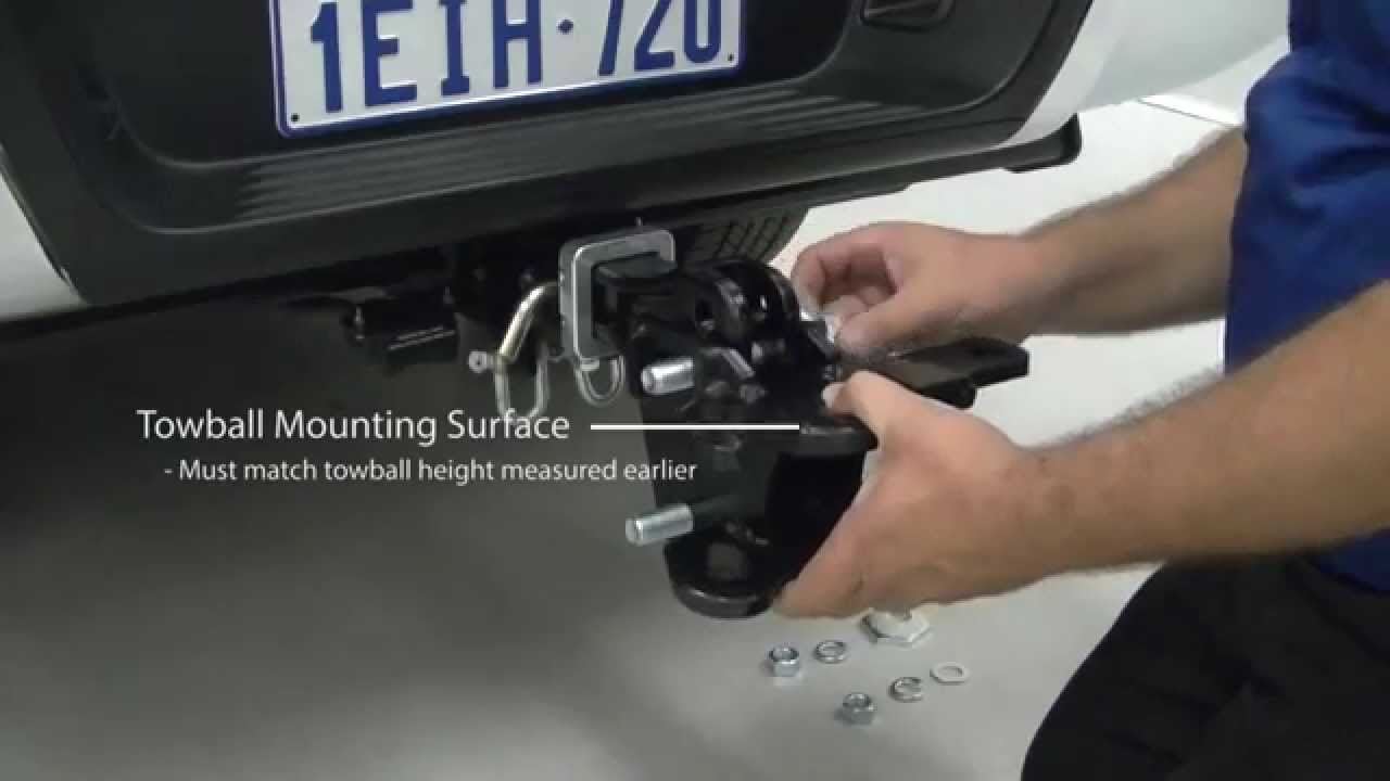 Weight Distribution Hitches Setting Up Part 2 Youtube