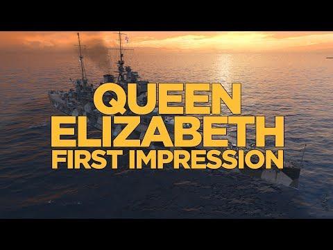 Queen Elizabeth First Impression