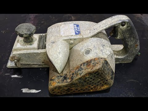Very Old Electric Hand Plane Makita Restoration - Step By Step Restoration