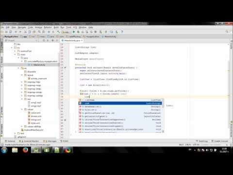 Develop simple Music Player in Android Studio