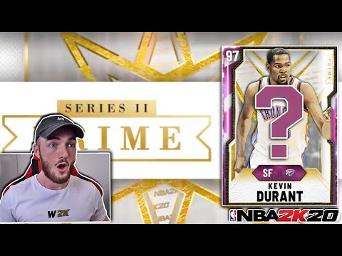 *NEW* PINK DIAMOND PRIME SERIES 2 PLAYER COMING! PINK DIAMOND KEVIN DURANT? (NBA 2K20 MYTEAM)