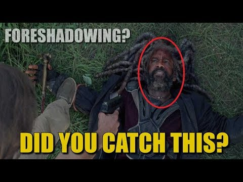 The Walking Dead Season 8 Easter Egg - Did You Notice This Ezekiel Easter Egg?