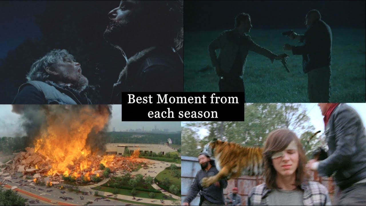 Download The Walking Dead - Best Moment From Each Season (S1-S7)
