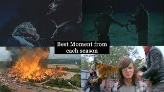 The Walking Dead - Best Moment From Each Season (S1-S7)