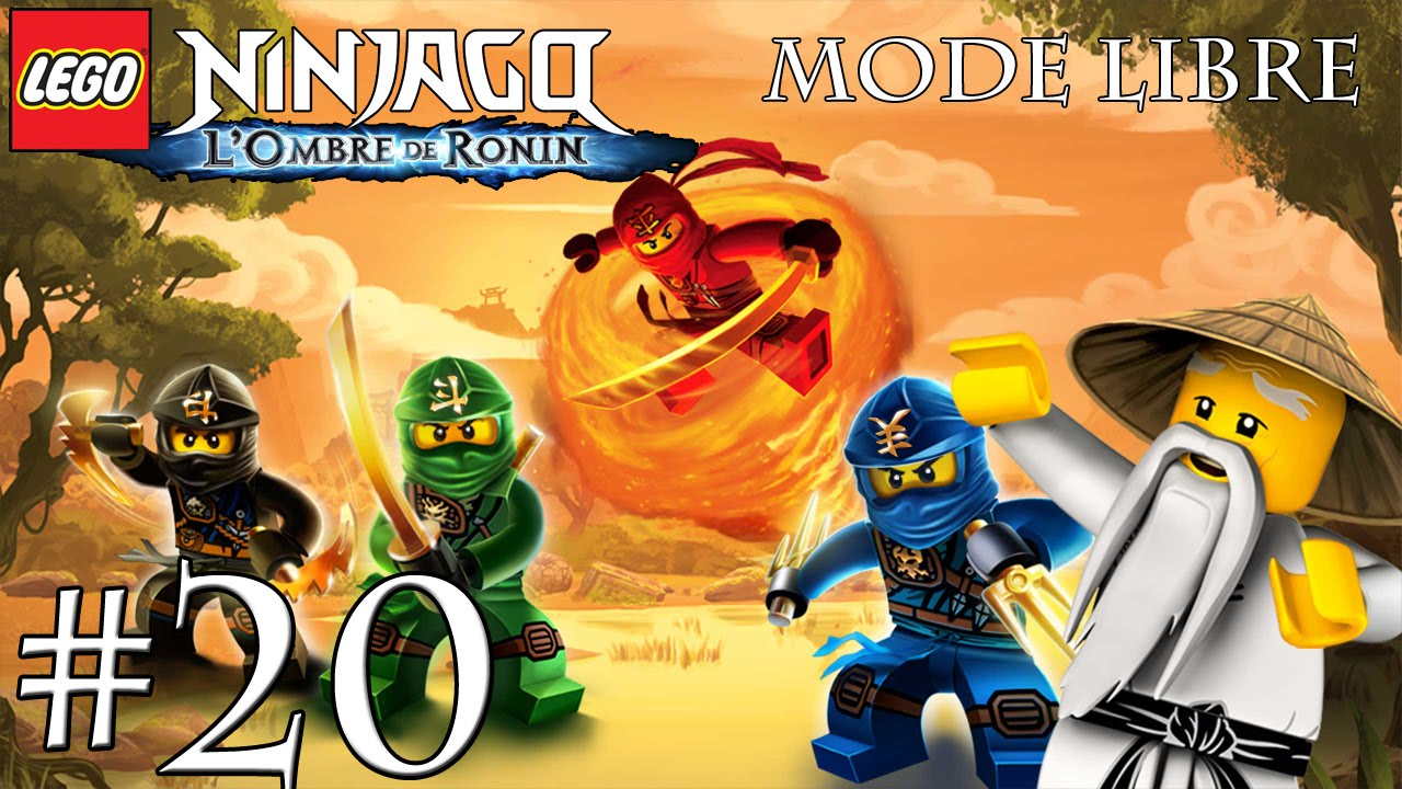 ninjago lombre de ronin