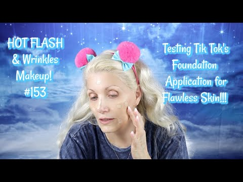 HOT FLASH & Wrinkles Makeup! # 129 - UOMA Say What! Foundation review - bentlyk from YouTube · Duration:  20 minutes 40 seconds