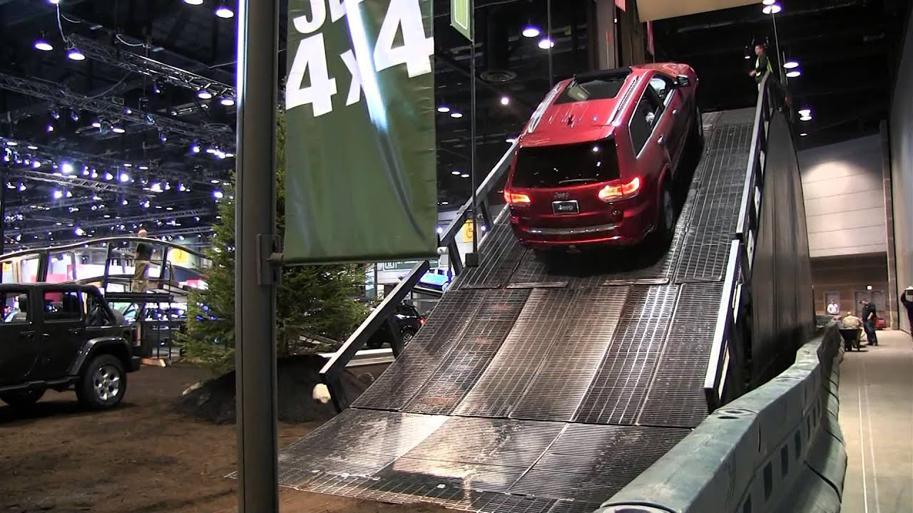 2014 jeep grand cherokee the jeep ride at the chicago auto Motor vehicle chicago