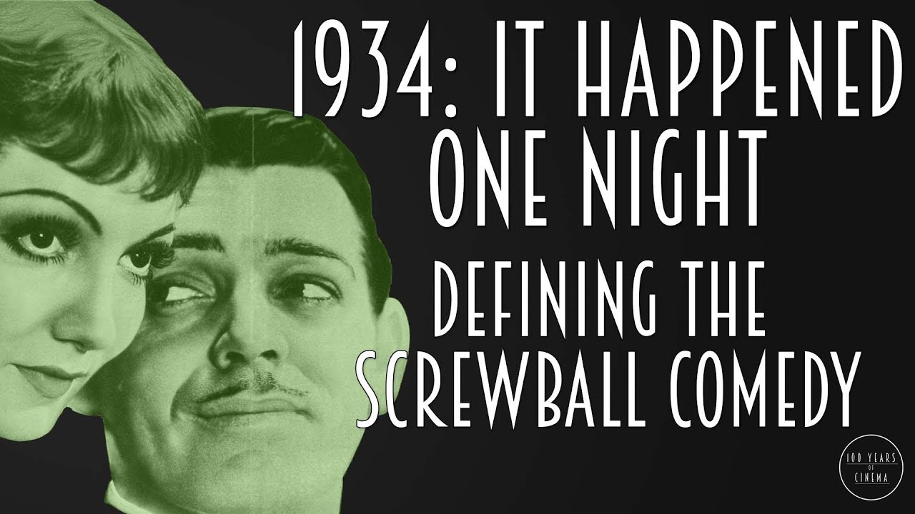 It happened one night screwball comedy essay