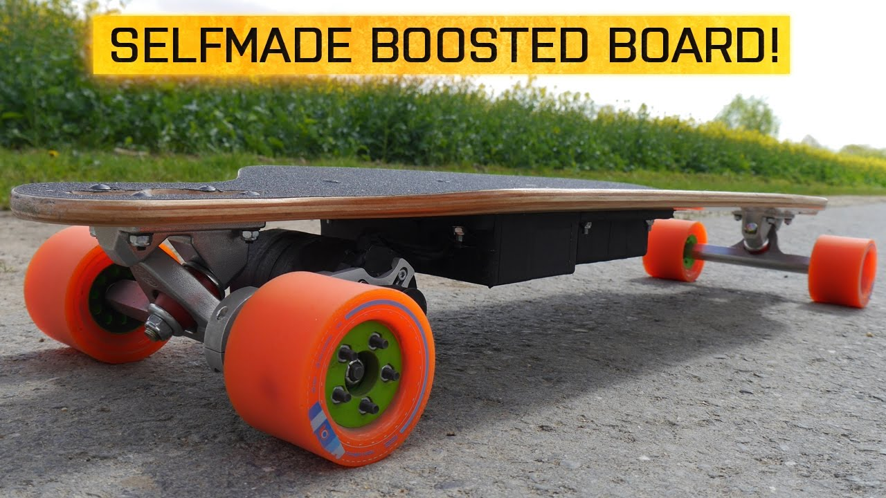 selfmade boosted board so habe ich ein elektrisches. Black Bedroom Furniture Sets. Home Design Ideas