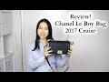 Chanel Le Boy Bag Review 2017 Cruise (17C) Black Caviar Gold Hardware Old Medium