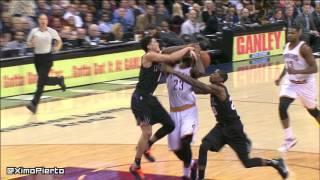 Lebron Gives Devon Booker The Death Stare   Suns Vs Cavaliers   Jan 27, 2016   Nba 2015 16 Season