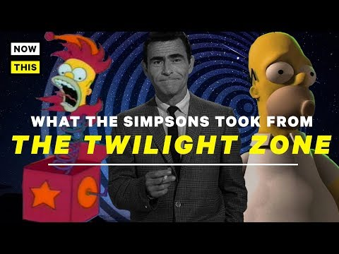 What The Simpsons Took From The Twilight Zone | NowThis Nerd