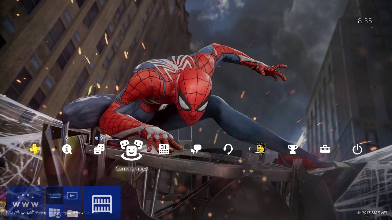 MARVEL'S SPIDER-MAN PS4 THEME (how to create your own ...
