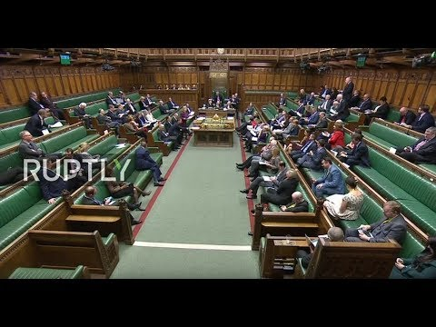 LIVE: UK Parliament debates on Brexit agreement