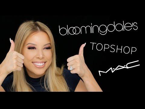 MEGA HAUL: Mac, TopShop, Bloomingdale's!