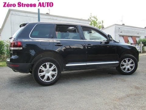 volkswagen touareg 4motion 3 0 v6 tdi 240 carat edition 2008 4x4 suv zero stress auto youtube. Black Bedroom Furniture Sets. Home Design Ideas