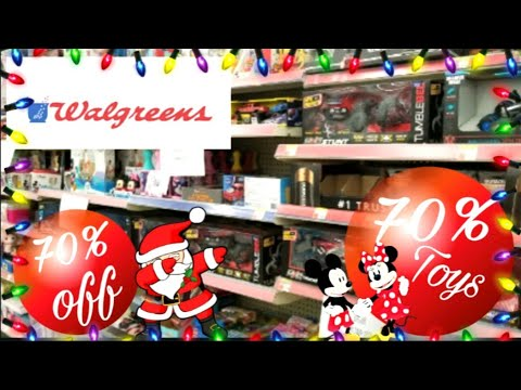 Walgreens Toys And Christmas 70 Off Clearance 2019 Youtube