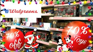 Walgreens Toys And Christmas 70% Off Clearance 2019