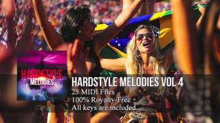 FL Studio: Hardstyle Melody Pack #4 (HD) (25 Midi Files)