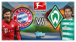 FC BAYERN MÜNCHEN - SV WERDER BREMEN 26.08.16 | TOPPS BUNDESLIGA ORAKEL