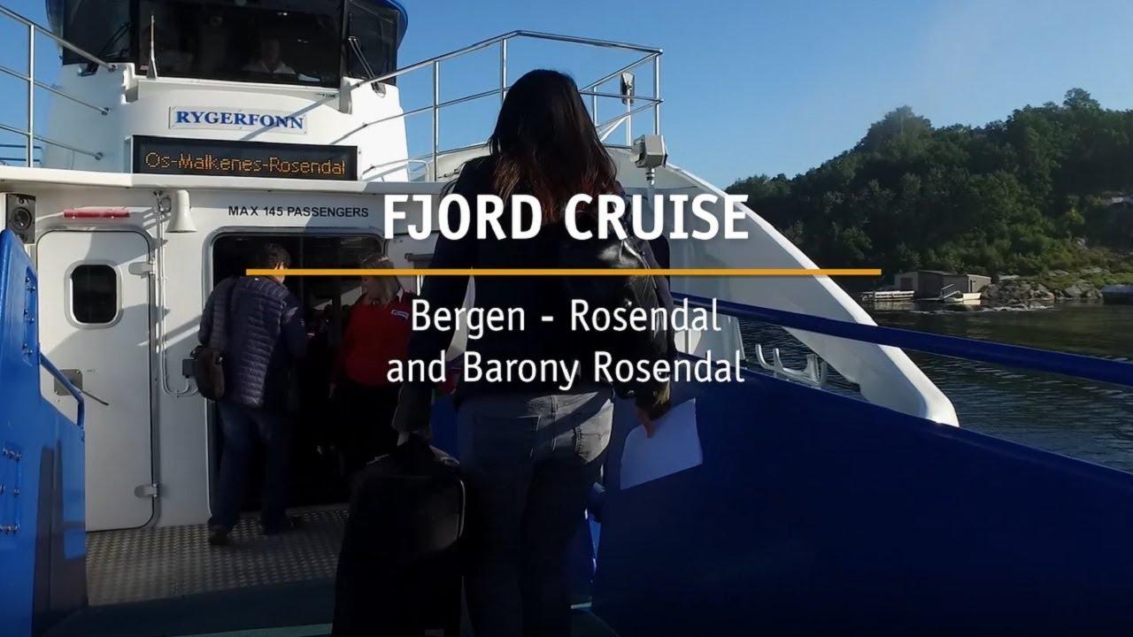 Thumbnail: Fjordcruise Bergen - Rosendal and Barony Rosendal