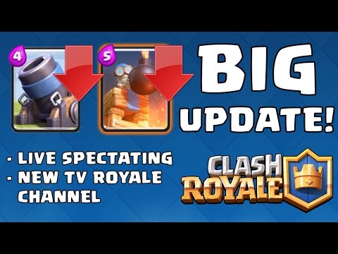 UPDATE! Balance, Live Spectating, TV Royale Channels - Clash Royale (Indonesia)