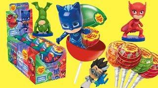 герои в масках 2 новая серия чупа чупс игрушки сюрпризы из конфет шар сюрприз #кэтбой #чупс