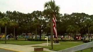 Parris Island Band - Flag Ceremony