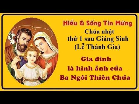 Gia đình là hình ảnh của Ba Ngôi Thiên Chúa